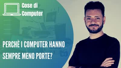 Computer con sempre meno porte