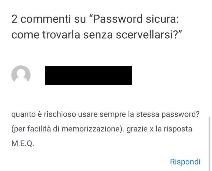 Consigli per una password sicura