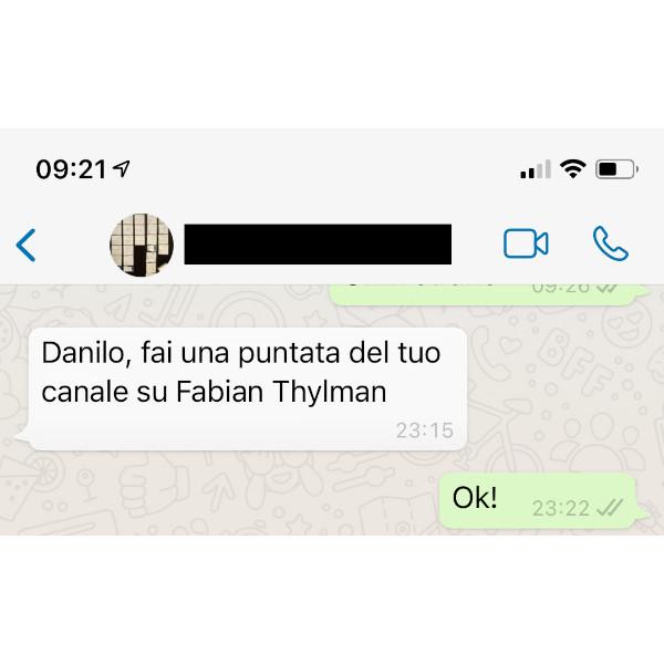 Richiesta su Fabian Thylmann