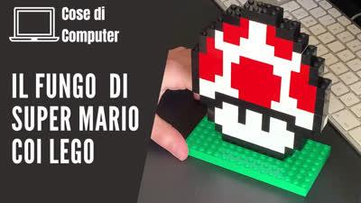 Fungo di Super Mario coi Lego