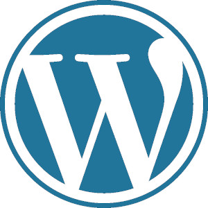 Quanto costa un sito web: logo del CMS WordPress