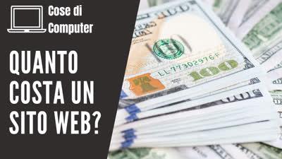 Quanto costa un sito web?