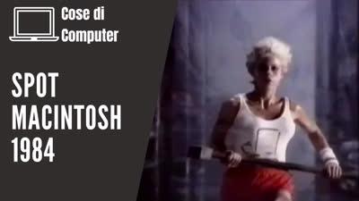 Spot Macintosh 1984